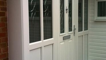 White Pvc-u Porch
