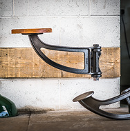 Indy Swing Arm Stool
