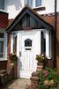 White Period Style Porch