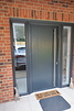 Contemporary Grey Composite Front Door