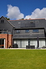 Grey Aluminium and Pvc-u  windows & bi-folding doors.