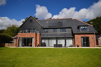 Grey Aluminium & Pvc-u Doors, Windows and Bi-folding Doors.