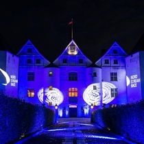 Glucksburg Castle hosted the owner's dinner
