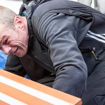 Boat repairs afloat
