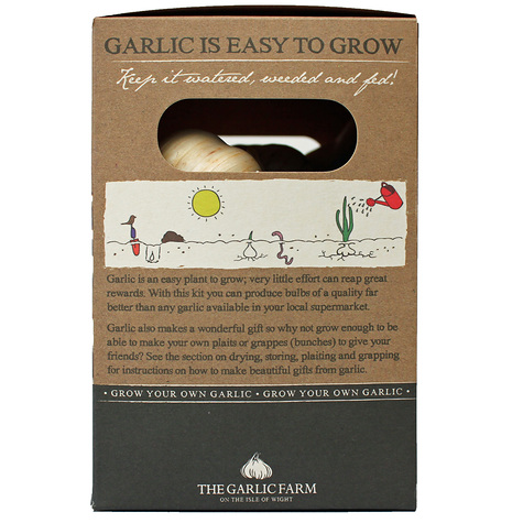 Garlic growing kit side1