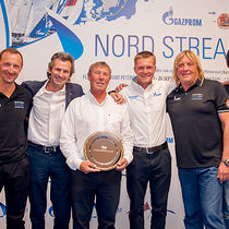 Gazprom Youth Sailing Challenge 2015 circuit champions