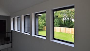 Feature Row of Landing Windows