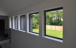 Feature Row of Landing Windows