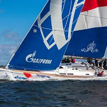 Gazprom Youth Sailing Challenge winners of the 2015 circuit