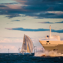 Stunning scenery on the Nord Stream Race