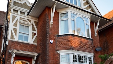 Grand Edwardian House Replacement Double Glazed Windows
