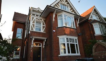 Edwardian House - After installation of A rated Double glazing.