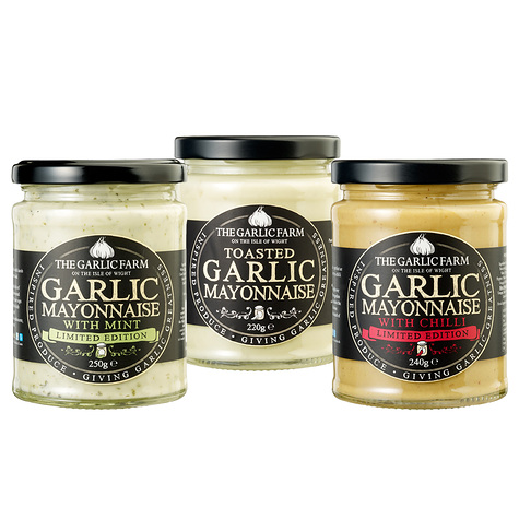 Garlic mayonnaise collection