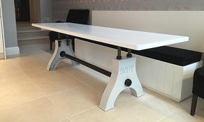 Indy Table in Light Grey