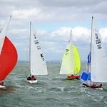 The first race on Saturday 9th April