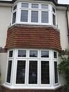 Double Square Bay Windows