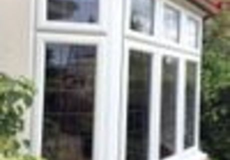 Double Glazed Bay Window with leaded glazing