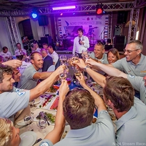 Competitors toast to the start of NSR 2016