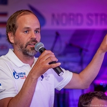 Team Finland address the crowd
