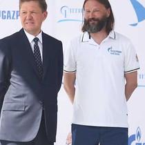 Vladimir Liubomirov at the opening ceremony