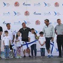 Skippers honoured at St Petersburg opening ceremony