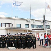 Saint Petersburg Yacht Club hosted the opening ceremony
