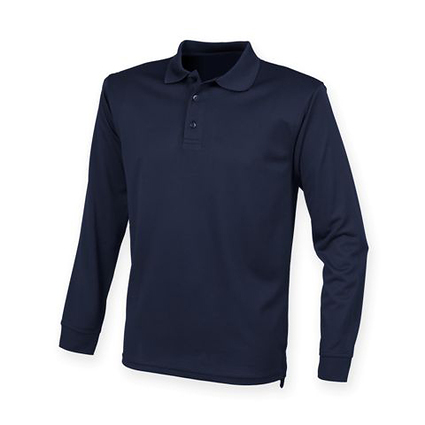 LS Polo Blue Front