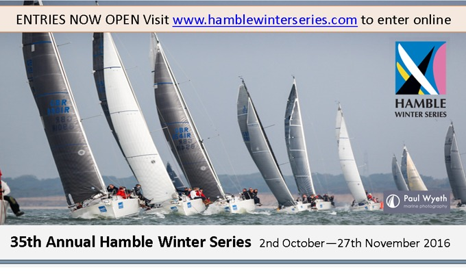 Hamble Winter Series 2016