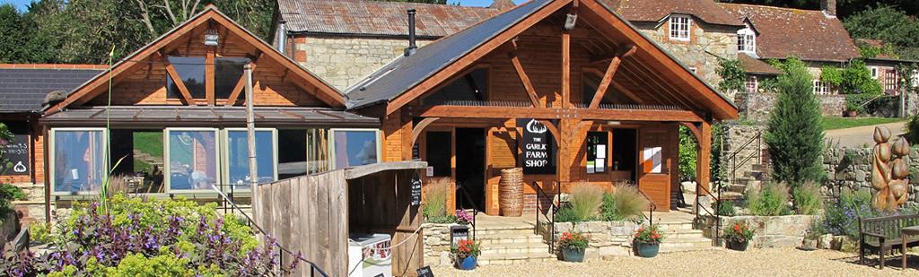 The Garlic Farm Isle of Wight   Farm Shop   Restaurant