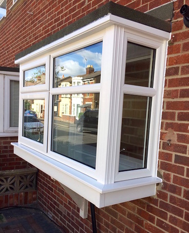 Leaded Bay Window Traditional Bjh Windows And