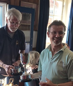Phil Duff - winner of the Club Fleet