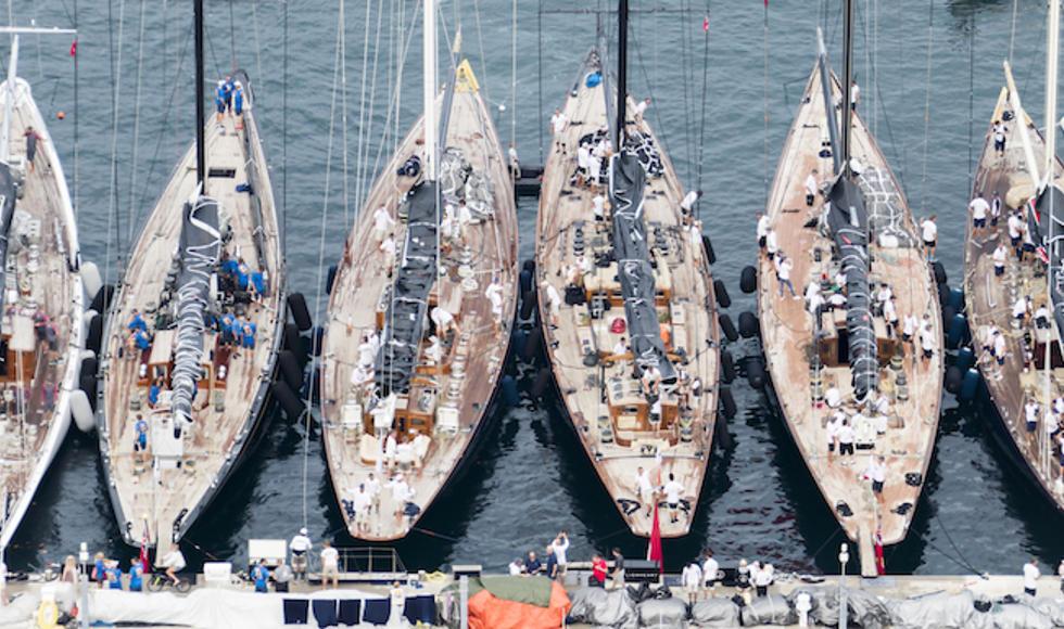 J Class Fleet in Bermuda © J Class/Studio Borlenghi.jpg