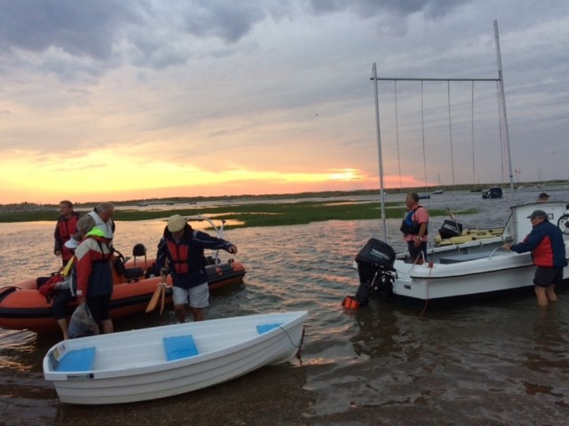 West Wittering Sailing Club : Return home from supper at HISC