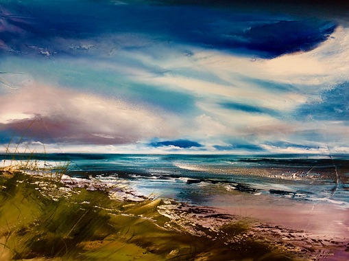 In the Dunes at east Head 80x100cm.jpg
