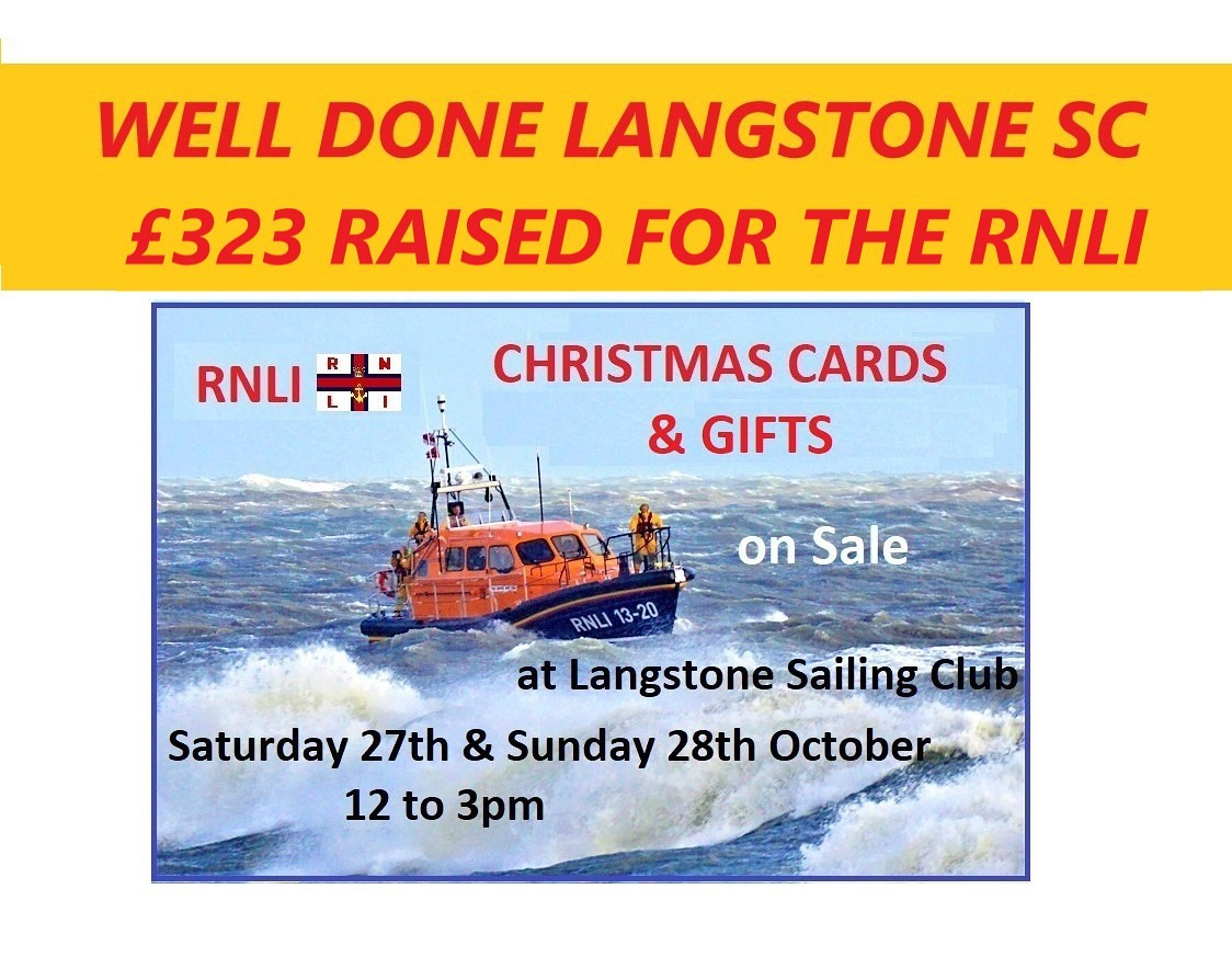 Langstone Sailing Club : RNLI Christmas Cards and Gifts on Sale at ...
