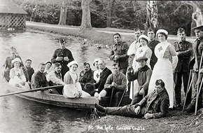 Nurses and soldiers at Gordon Castle.jpg