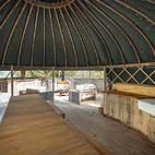 Communal Yurt - dining.JPG