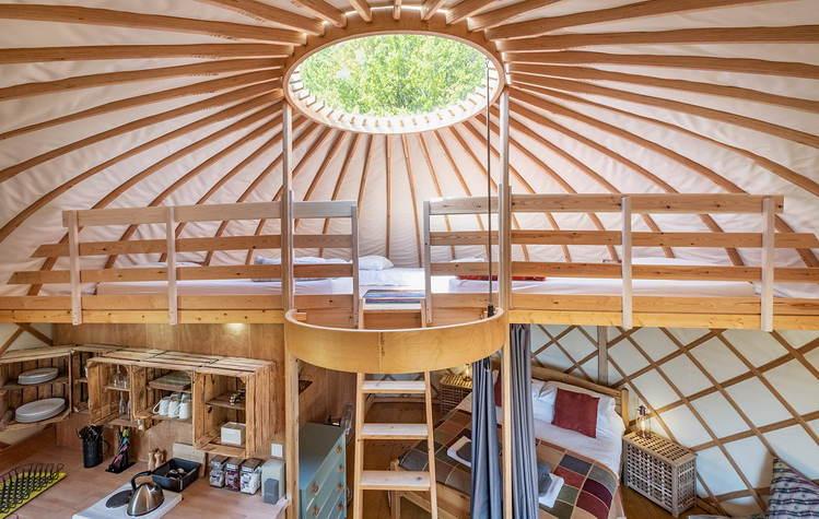 Yurt Leah - mezzanine.JPG