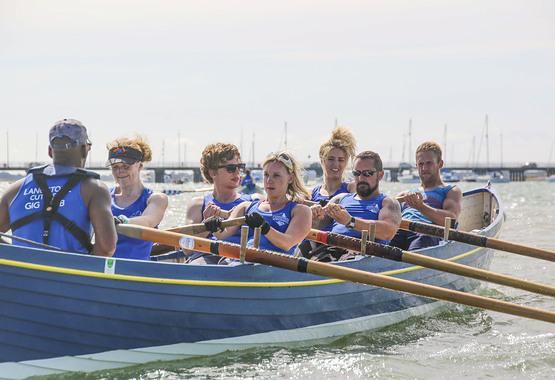 Rowing in the Harbour_Kath Brett.jpg