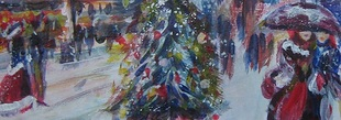 Christmas Painting Workshop with Acrylics