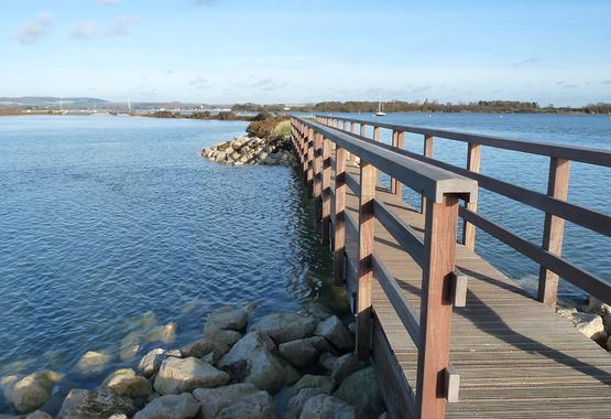 Bridge at Cobnor - pls credit Stephen Johnson.JPG