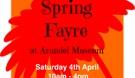 Arundel Museum Spring Fayre poster.png