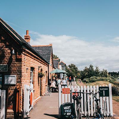 Off the Rails restaurant, Yarmouth