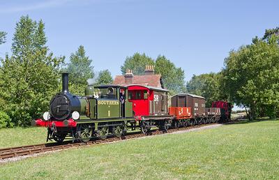 Isle of Wight Steam Railway steam train