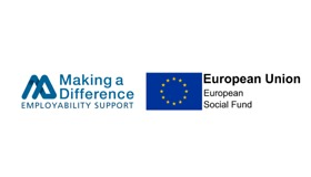 Making a Difference & ESF logo.png